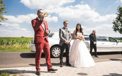 Tamada oder Hochzeitsmoderator
