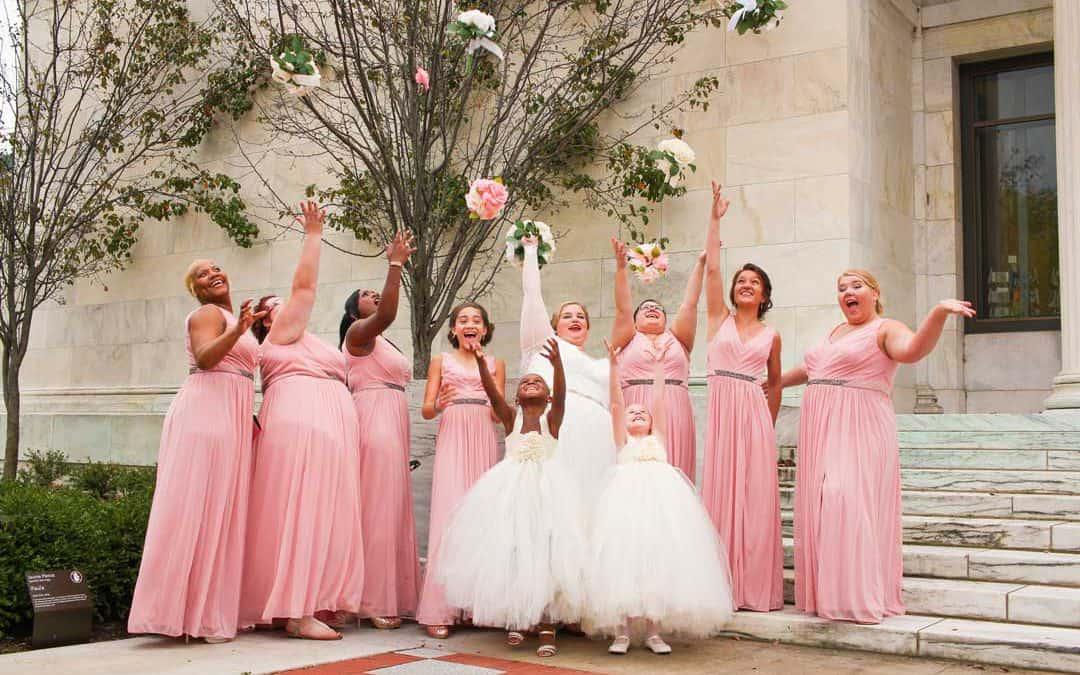 Perfekte und reibungslose Multikulti-Hochzeit